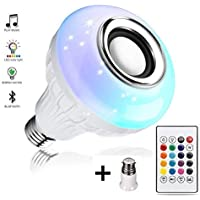 SSR Bluetooth Speaker RGB Self Changing Color Lamp Built-in Audio Speaker with Remote Control