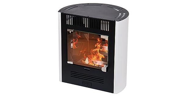 Divina Fire estufa de bioetanol Blanca 2300 W Calefacción Casa 25 m² Elena: Amazon.es: Bricolaje y herramientas