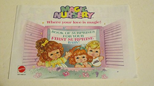 Mattel Magic Nursery Booklet