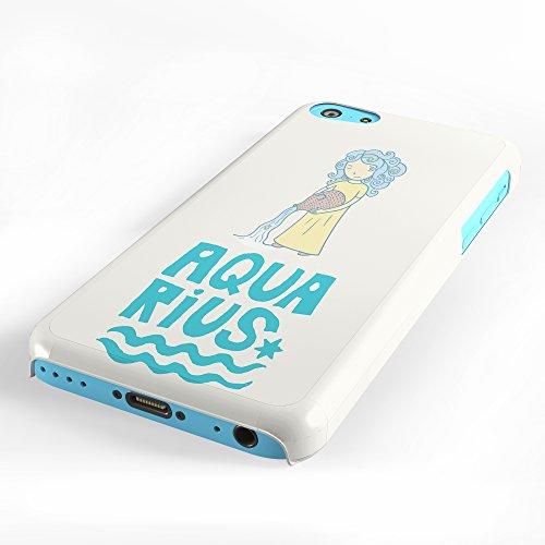 Koveru Back Cover Case for Apple iPhone 5C - Aquarius