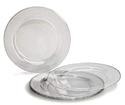 """ OCCASIONS"" 40 PACK, Heavyweight Disposable Wedding Party Plastic Plates"