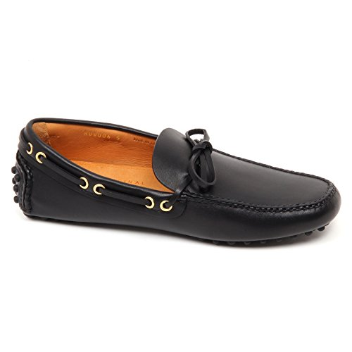 76650 mocassino uomo CAR SHOE nero scarpa uomo loafer shoe men Nero