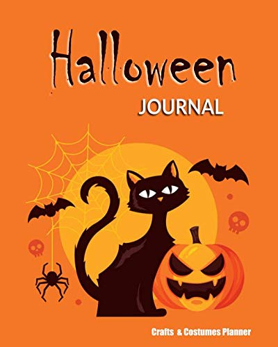 Halloween Journal: Crafts & Costumes Planner (Halloween Planners) -