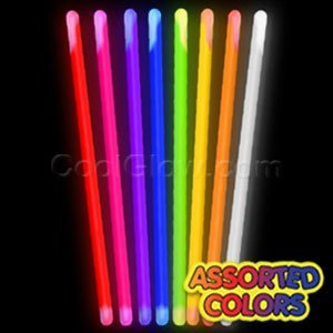 Fun Central X542 16 Inch Glow in the Dark Stick - Assorted