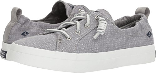 Sperry Top-Sider Women's Crest ebb Two-Tone Sneaker, Grey, 9.5 Medium US