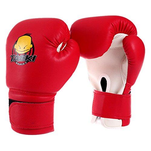 Wildlead Guantes de Boxeo,Niños Mitones Sanda Knuckles Jugar Sandbags Bolsas de Arena Niño Adulto Muay Thai Kickboxing Hombres Lucha