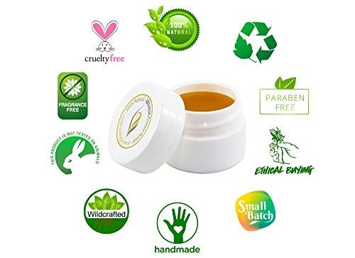 ARNALIA 100% Natural & Organic Wild Herbs, Eye & Face Cosmetic Skin Care Cream, Emollient, Anti Wrinkle, Anti Aging, Age Spot, Firming, Hydrating Balm, Collagen, Vitamin A,C,E,F Moisturizer, SPF 1.1oz