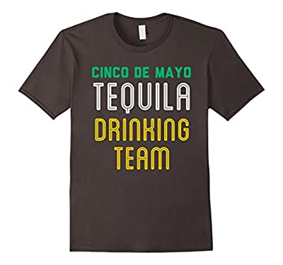 Tequila Drinking Team T-Shirt Funny Cinco de Mayo Tee
