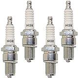 NGK 3611 BP4HS Standard Spark Plug, Pack of 4