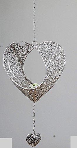 Herz Formano Hänger Deko Windlicht Teelicht