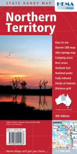 Northern Territory Handy Map (State Handy Maps)