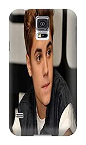 Cool Justin Bieber fashionable TPU Design Plastic Hard Case for SamSung Galaxy s5 by lolosakes