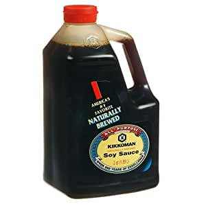 Kikkoman Soy Sauce, 64-Ounce Bottle (Pack of 1)