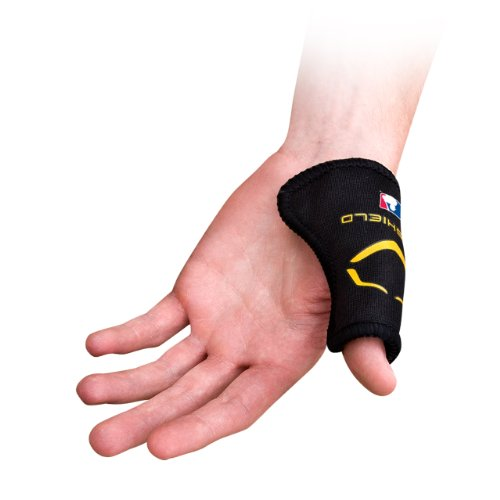 - EvoShield Baseball Catcher?s Thumb Guard, Black, Small/Youth