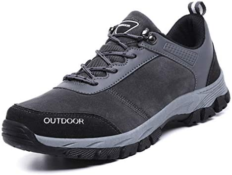 ウォーキングシューズ 歩きやすい メンズ カジュアルシューズ 革靴 ローカット メッシュ クライミングシューズ疲れにくい アウトドア 24.0cm 幅広 大きいサイズ ドライビングシューズ 防滑 グレー レースアップシューズ 春 夏 登山靴