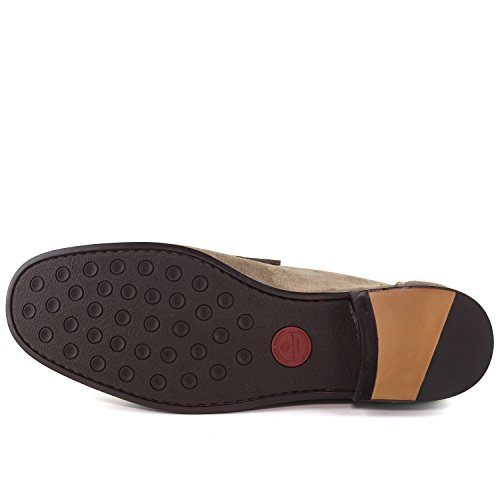Marc Joseph New York Made In Brasilien Fashion Herren Metropolitan Loafer Ingwer Wildleder