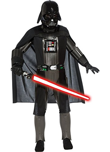 [Star Wars, Deluxe Darth Vader Child's Costume - Large] (Father Son Star Wars Costumes)