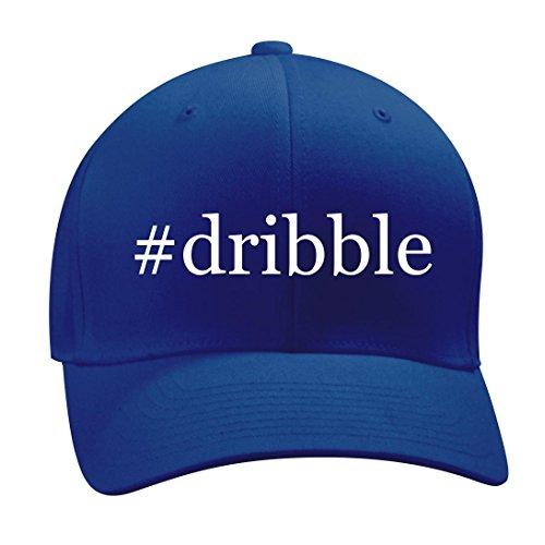 #dribble - A Nice Hashtag Men's Adult Baseball Hat Cap, Blue, Small/Medium