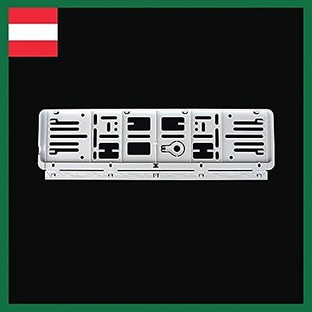 520X120 6er Set; 4X schwarz und zwei Mal in Farbe nach Ihrer Wahl! Wechselkennzeichen Rahmen: /Österreich Pink