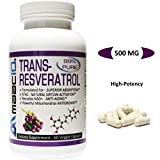 Cheap MAAC10 – Trans Resveratrol 500mg Very High Potency Formulation (99% Purified MICRONIZED Trans-Resveratrol Extract + BioPerine for Superior Absorption) (2x 250mg Capsules 60ct)
