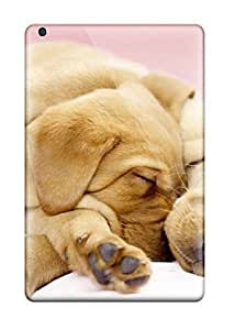Premium Canine Cuddles Back Cover Snap On Case For Ipad Mini 2