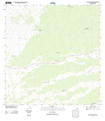 Hawaii Maps - 2013 Waikoloa Ponds, HI USGS Historical Topographic Map - Cartography Wall Art - 38in x ()