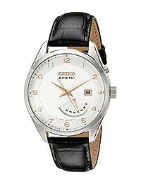 Seiko Men SRN049 Kinetic Stainless Steel Watch