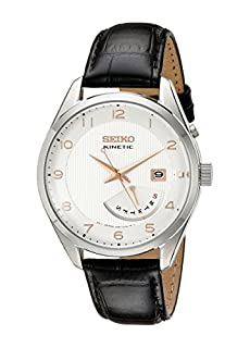 Seiko Men SRN049 Kinetic Stainless Steel Watch (B00G5LITTC) | Amazon price tracker / tracking, Amazon price history charts, Amazon price watches, Amazon price drop alerts