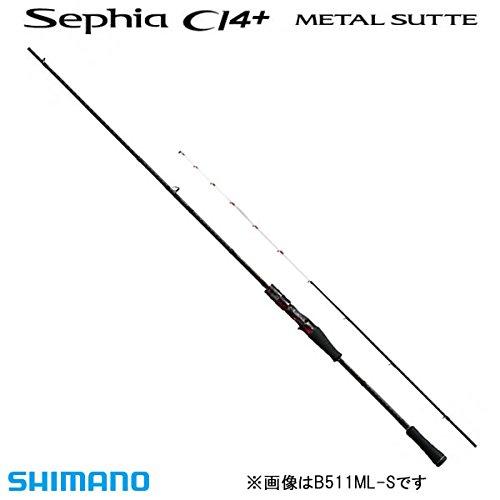 シマノ(SHIMANO) ロッド イカメタル セフィア CI4+ メタルスッテ B66M-S
