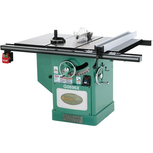 Cabinet Grizzly Saw (Grizzly G0696X 5 HP Extreme Series Left Tilt Table Saw, 12-Inch)