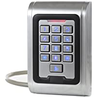 UHPPOTE Keypad Standalone Access Control Wiegand 26 Reader Anti-vandal Waterproof IP68 Metal Case