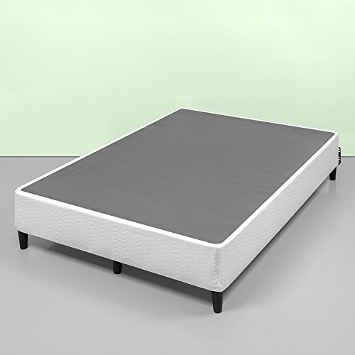 (Zinus Keenan 14 Inch Free Standing Smart Box Spring / Mattress Foundation / With 9 Support Legs / Strong Steel Structure / Easy Assembly Required, Full)