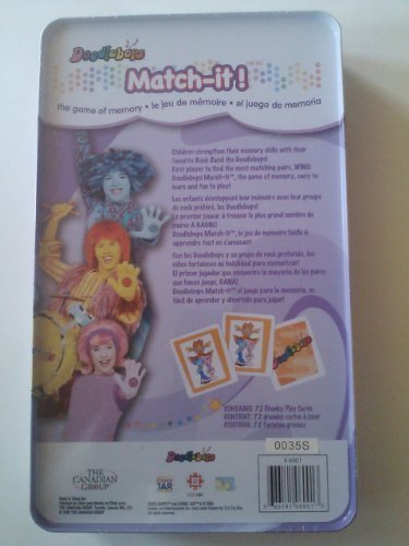 Doodlebops Match It Memory Game