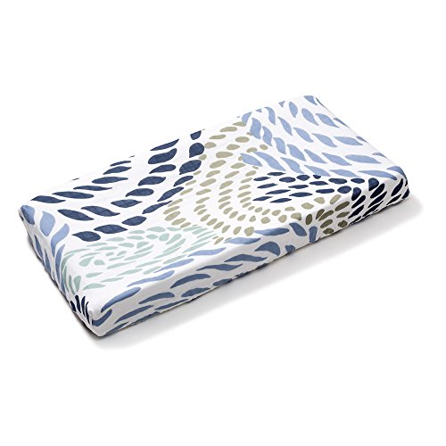 b.bear Changing Pad Cover, Rope Flat Changing Table Cover