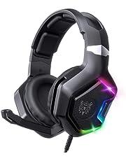 سماعة راس جيمنج من فيينج لـXbox Series، سماعات اذن مع ميكروفون لـ PS5/ PS4/ Xbox One/ PS5 مع صوت محيطي 7.1 وميكروفونات بخاصية الغاء الضوضاء للعب بنظام Mac