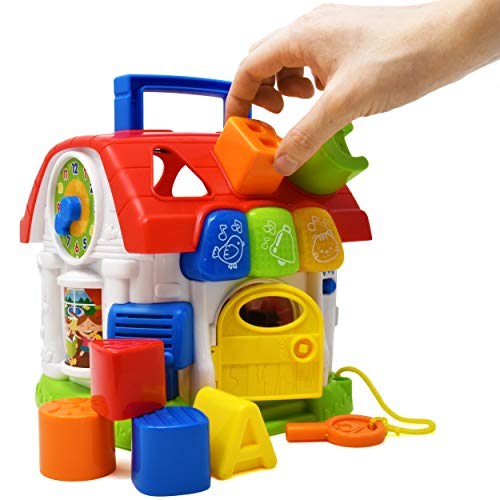 Activity Music House Toy, Cube Learning Toy-Educational ...