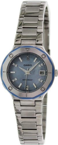 (Casio Core Mother Of Pearl Dial Stainless Steel Ladies Watch LTP1366D2ADF )