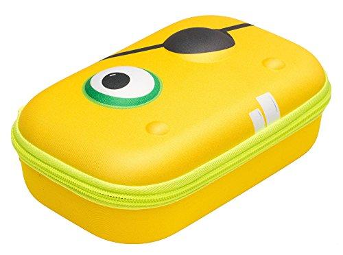ZIPIT Beast Pencil Case/Pencil Box/Storage Box, Yellow
