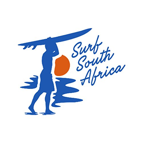 SURF SOUTH AFRICA Surf Surfing Car Laptop Wall Sticker