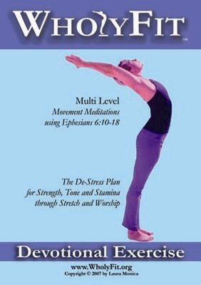 WholyFit Multi-level Christian Alternative to Yoga Challenge. The Armor Workout DVD (Armor Workout)