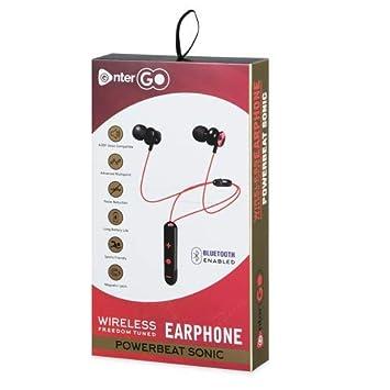 Enter Go Powerbeat Sonic Bluetooth 4 2 Edr Wireless Amazon In Electronics