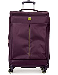 DELSEY Paris Delsey Air Adventure 25 Expandable Spinner Luggage, Purple