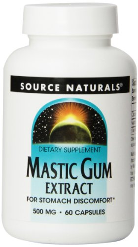 Source Naturals Mastic Gum Extract 500mg, 60 Capsules