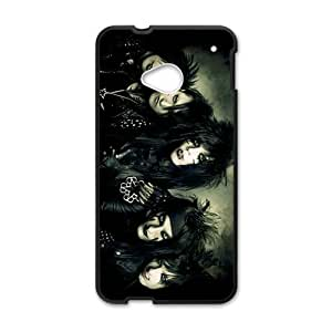 SKULL Black Monster Cell Phone Cell Phone Case for HTC One M7
