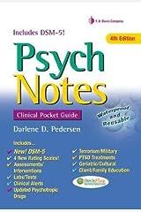 [(PsychNotes: Clinical Pocket Guide)] [Author: Darlene D. Pedersen] published on (August, 2013) Spiral-bound