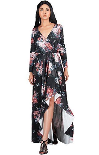 7f58ccbeef737 ... Slit Split Fall Winter Spring Cocktail Sexy Flowy Evening Day Abaya  Gown Gowns Maxi Dress Dresses