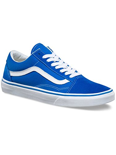 Vans Womens Old Skool Blue Suede Trainers 9 US