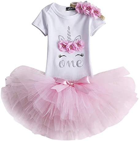 OwlFay Infant Toddler Baby Girls Its My 1st//2nd Birthday Dress Sequin Bowknot Princess Party Tutu Dress Skirt Headband Cake Smash Outfits Photography Photo Shoot Clothes Set