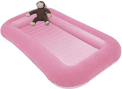 Kampa Junior Bumper Airlock Air Bed For Kids Pink or Blue