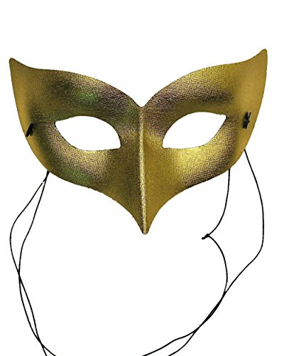 Cheap Masquerade Masks For Men (Unisex Mask Fabric Mystique Costume Masquerade Venetian Face Mask Gold Silver Color: Gold Sizes: One Size)